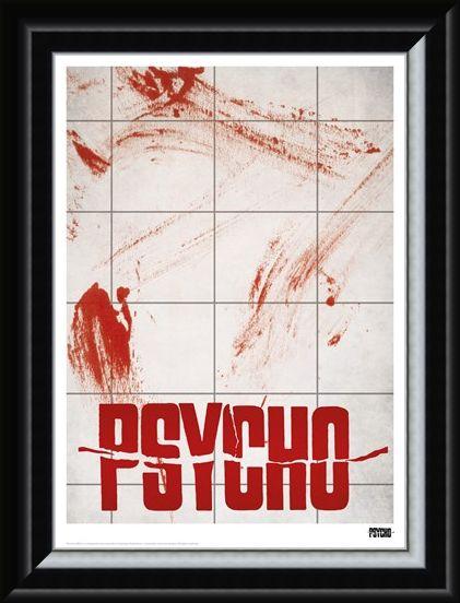 Framed Framed Limted Edition Psycho - Alfred Hitchcock