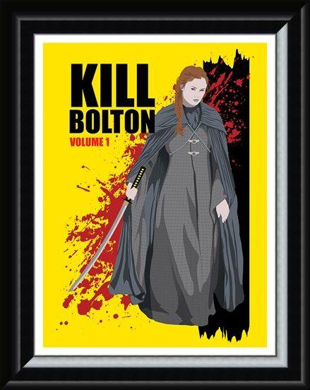 Framed Framed Sansa Stark's Revenge - Kill Bolton