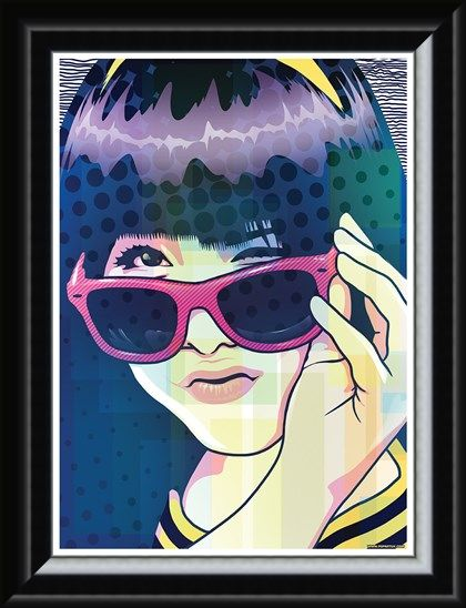 Framed Framed Kawaii Sunglasses - Anime Inspired