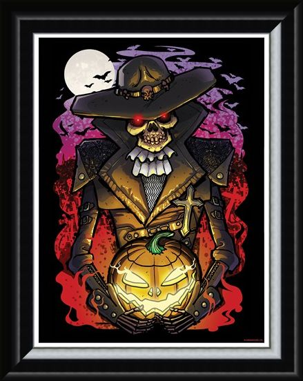 Framed Framed Undead Walker - Halloween