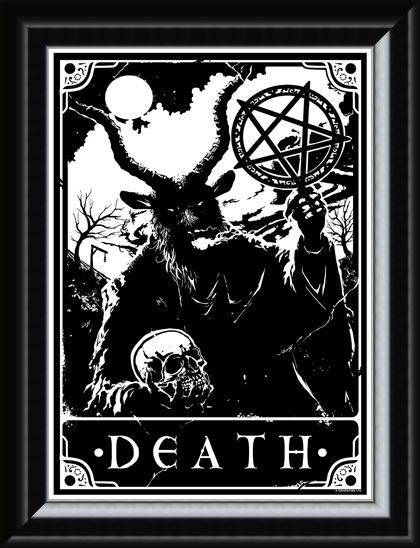 Framed Framed Death - Deadly Tarot