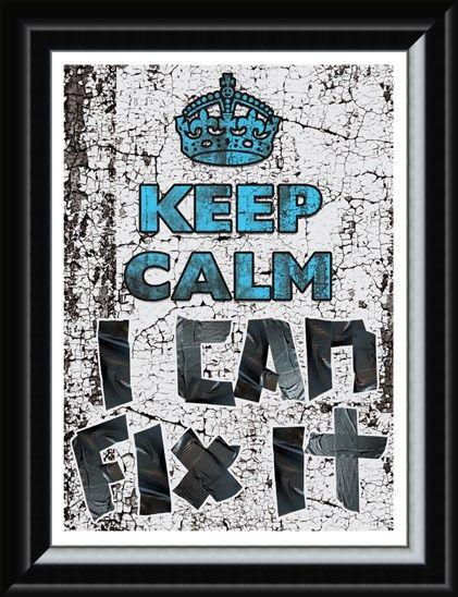 Framed Framed Keep Calm I Can Fix It - Keep Calm & Carry On