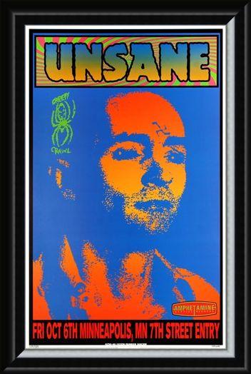Framed Framed Unsane - Frank Kozik