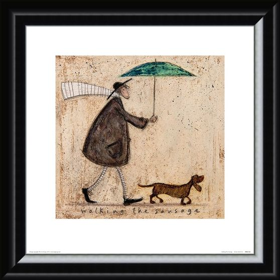 Framed Framed Walking The Sausage - Sam Toft