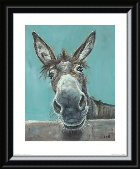 Framed Framed Well Hello There - Louise Brown