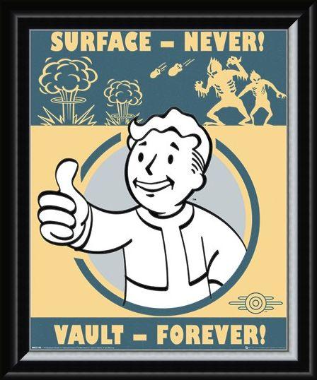 Framed Framed Vault Forever - Fallout