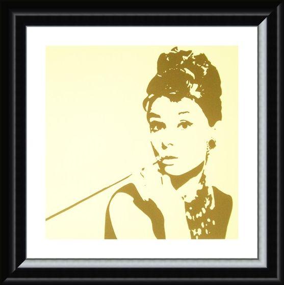 Framed Framed Audrey Hepburn - Phil Handsley