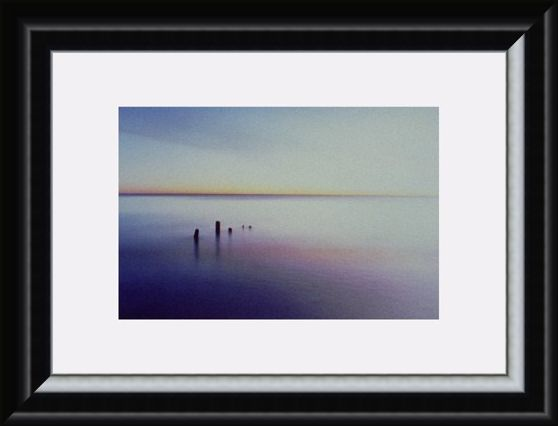 Framed Framed Lake at Sunset - Shooting Star