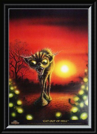 Framed Framed Cat Out of Hell - Danny Flynn