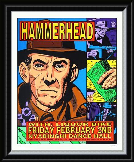 Framed Framed Hammerhead - Frank Kozik