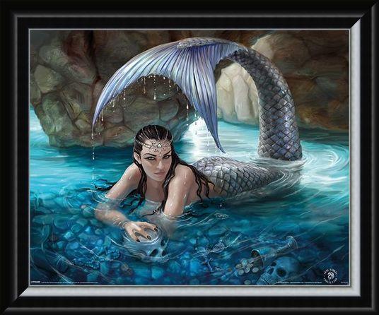 Framed Framed Hidden Depths - Anne Stokes