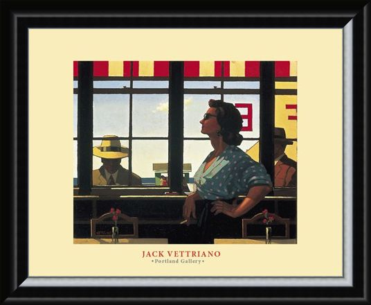 Framed Framed A Date with Fate - Jack Vettriano