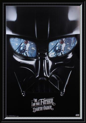 Framed Framed Darth Vader - I Am Your Father - Star Wars