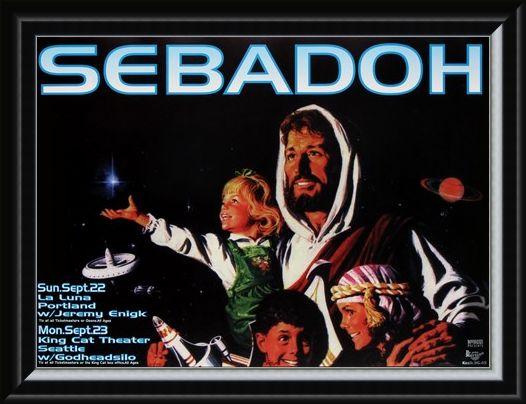 Framed Framed Sebadoh - Frank Kozik
