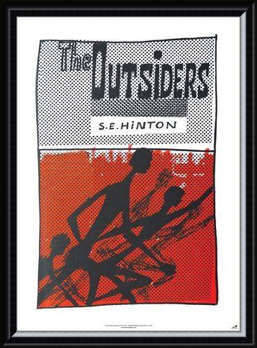 Framed Framed The Outsiders - S E Hinton