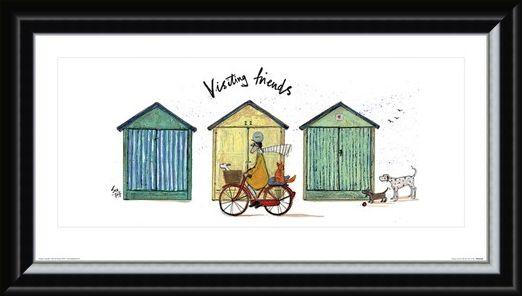 Framed Framed Visiting Friends - Sam Toft