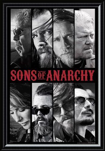 Framed Framed Sons of Anarchy Collage - TV Show