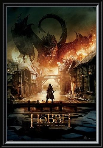 Framed Framed The Battle Of The Five Armies - The Hobbit