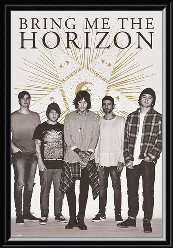 Framed Framed Star - Bring Me The Horizon