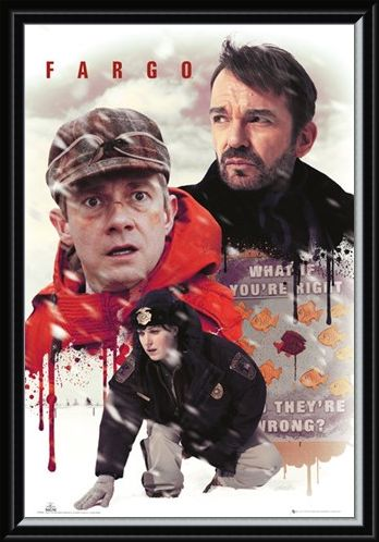 Framed Framed Character Collage - Fargo