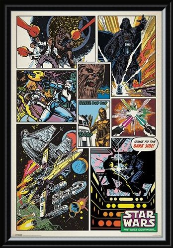 Framed Framed The Saga Continues... - Star Wars