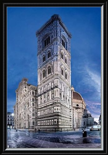 Framed Framed Cattedrale di Santa Maria del Fiore - Florence Cathedral