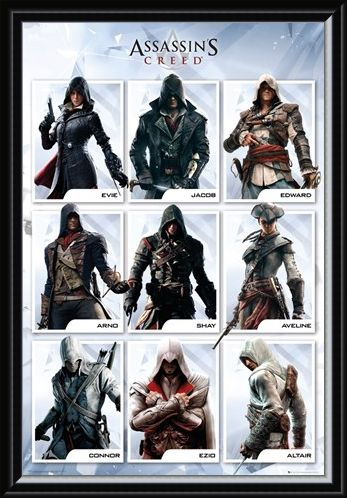 Framed Framed The Brotherhood Evolution - Assassins Creed