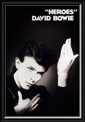 Framed Framed Heroes - David Bowie
