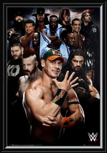 Framed Framed Superstars 2016 - WWE