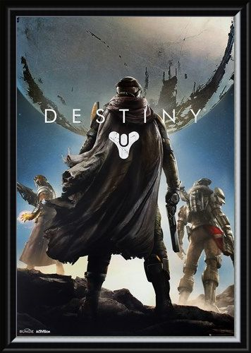 Framed Framed Warlock, Hunter and Titan - Destiny