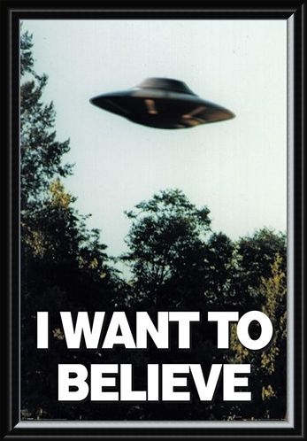 Framed Framed I Want To Believe - The X-Files