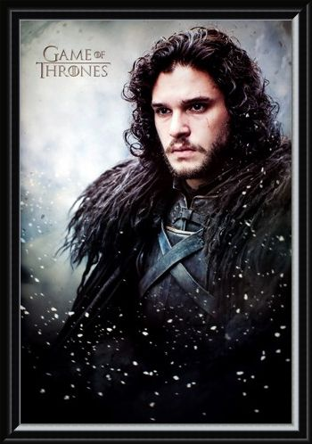 Framed Framed You Know Nothing - Game Of Thrones