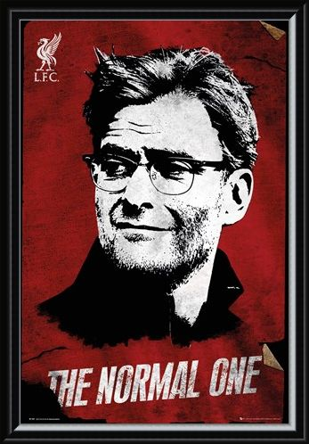 "Framed Framed ""The Normal One"" Jürgen Klopp - Liverpool FC"