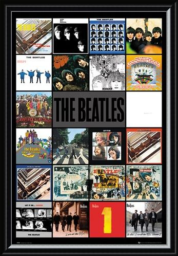 Framed Framed Albums - The Beatles