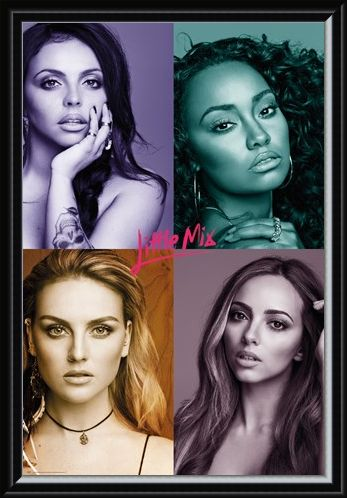Framed Framed Quad Pictures - Little Mix