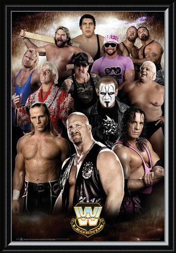 Framed Framed Wrestling Legends - WWE