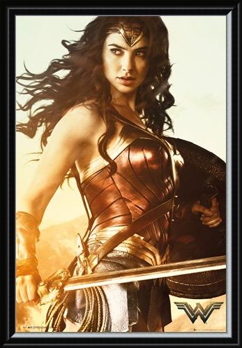 Framed Framed The Sword of Athena - Wonder Woman