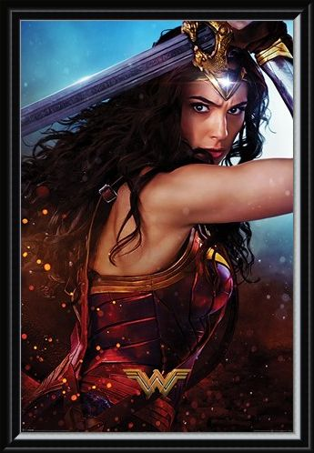Framed Framed Sword - Wonder Women