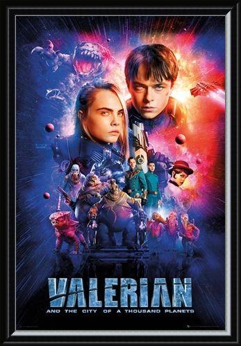 Framed Framed A Thriving Metropolis - Valerian