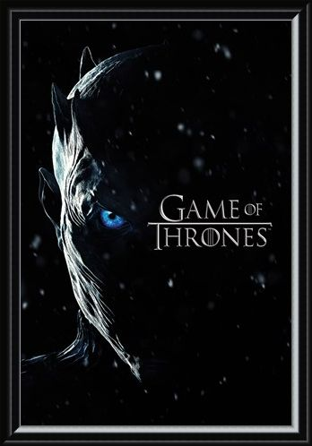 Framed Framed Season 7 Night King - Game Of Thrones