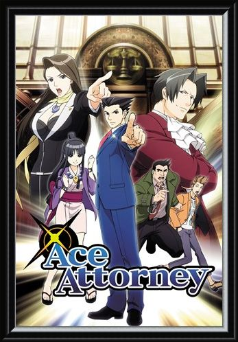 Framed Framed Phoenix Wright - Ace Attorney