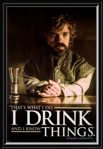 Framed Framed I Drink And I Know Things - Game of Thrones