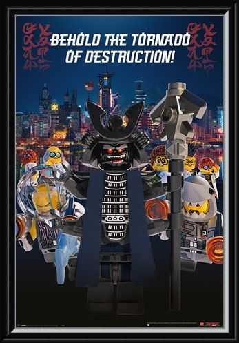 Framed Framed Garmadon Destruction - LEGO® Ninjago Movie