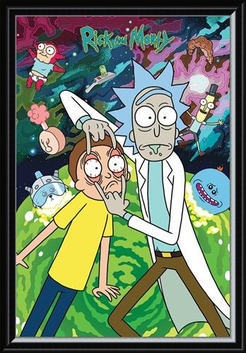 Framed Framed Watch - Rick and Morty