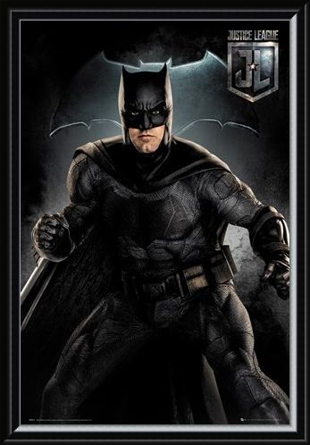 Framed Framed Batman Solo - Justice League