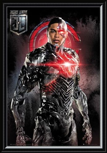 Framed Framed Cyborg Solo - Justice League