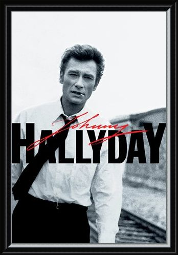 Framed Framed Train Tracks - Johnny Hallyday