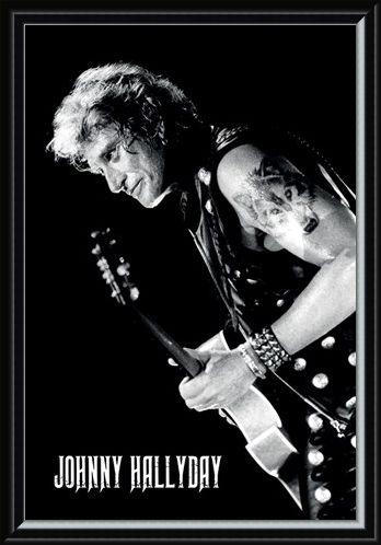 Framed Framed Lone Wolf - Johnny Hallyday
