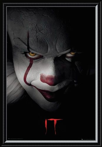 Framed Framed Pennywise Clown - IT