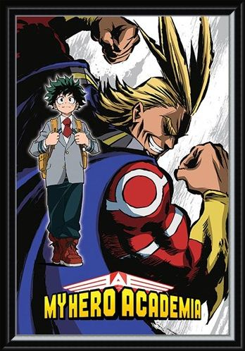 Framed Framed Not A Hero - My Hero Academia